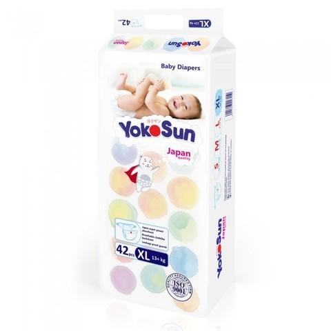 YokoSun Подгузники детские XL (13+ кг) 42 шт