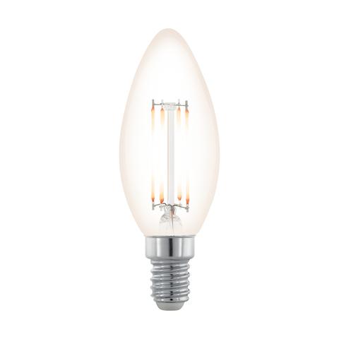 Лампа  LED филаментная диммир. Eglo NORTHERN LIGHTS LM-LED-E14 3,5W 390Lm 2200K C35 11708