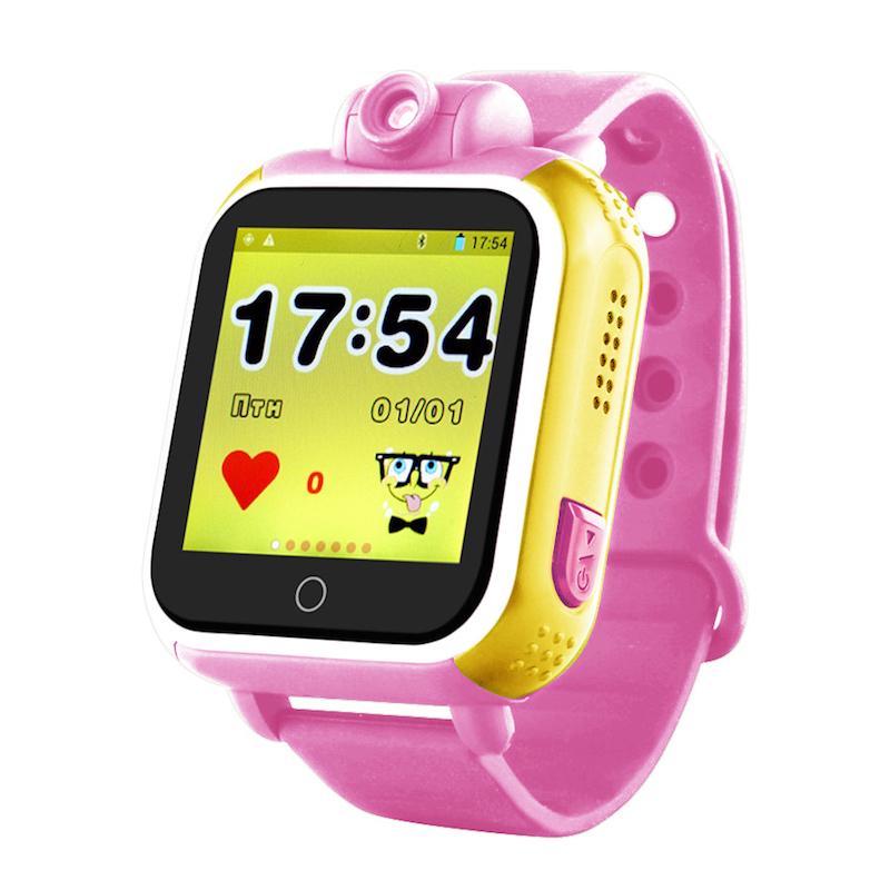 Розовый вариант цвета Smart Baby Watch Q100/GW1000