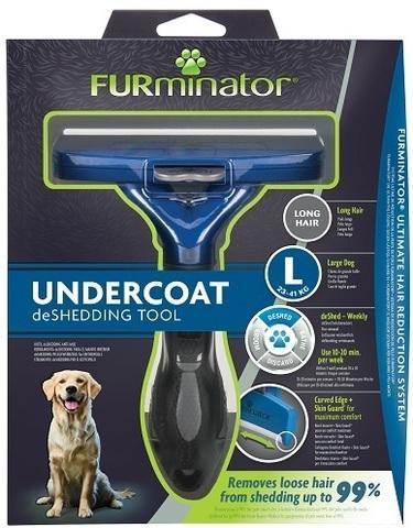 FURminator L фурминатор для крупных собак с длинной шерстью