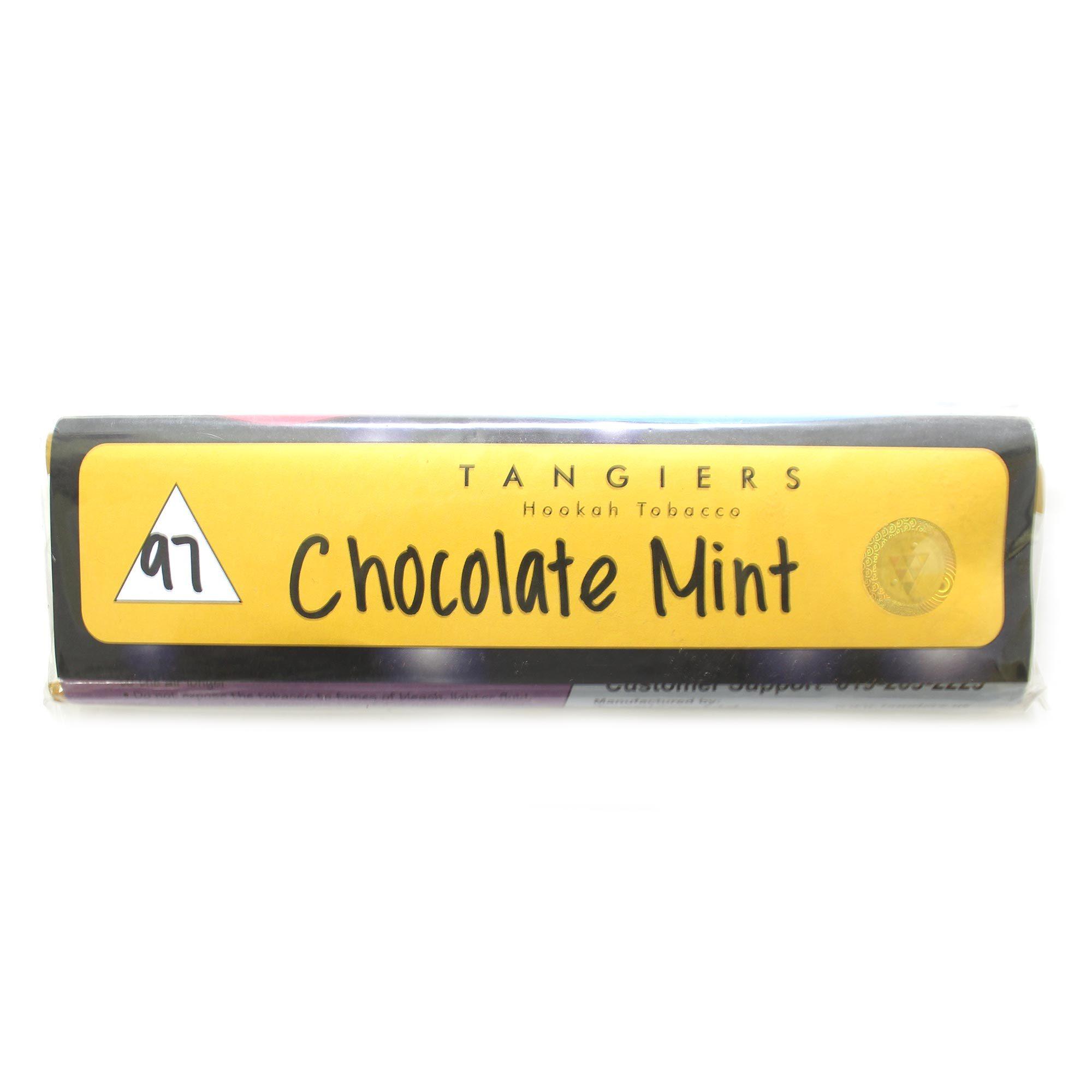 Табак для кальяна Tangiers Noir (желтый) 97 Chocolate mint 250 гр (100 гр)