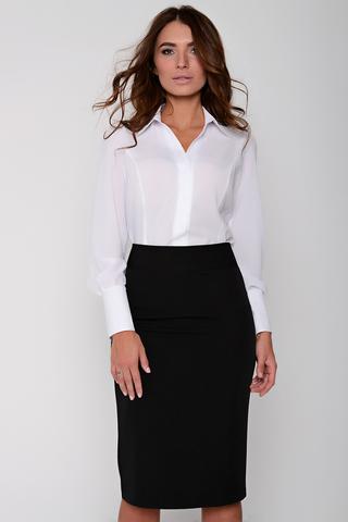 Юбка-Карандаш (черная). <p>Неподвластный ни капризам моды, ни времени предмет женского гардероба. Будет смотреться эффектно как в составе строгого делового костюма, так и в соблазнительном вечернем образе. (Длина: 44,46,48 = 63см; 50=64см; 52=65см;) пояс с замком</p>