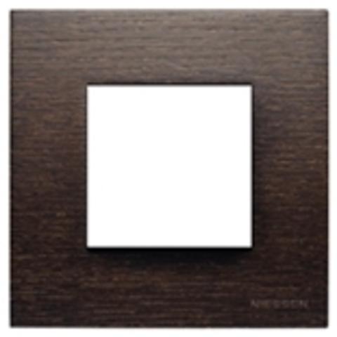 Рамка на 1 пост. Цвет Натуральное венге. ABB(АББ). Niessen Zenit(Ниссен Зенит). N2271 WG