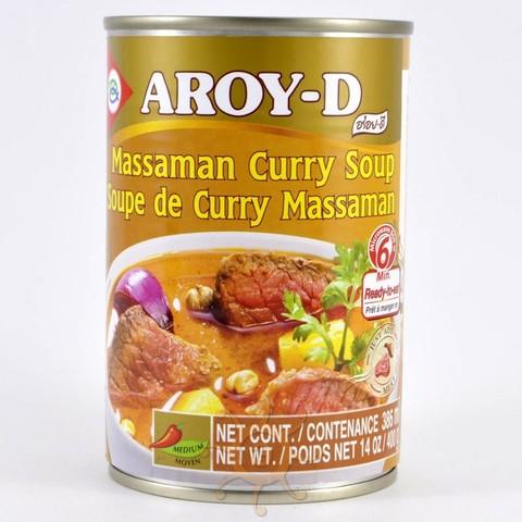 Суп Массаман карри  (Massaman Curry) Aroy-D, 400г