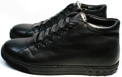 Теплые ботинки на зиму мужские Ridge 6051 X-16Black