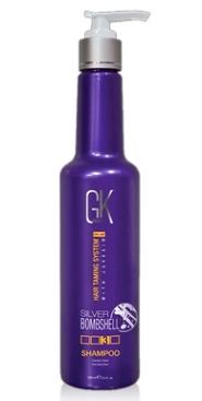 Шампунь оттеночный GK Global Keratin Silver Bomshell 280 мл