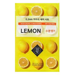 Etude House Therapy Air Mask Lemon - Маска тканевая с экстрактом лимона