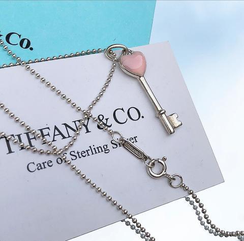 Ключ Heart Tiffany Blue and Pink