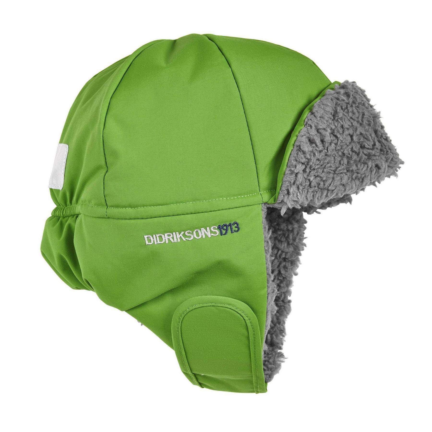 Шапка детская Didriksons Biggles - Kryptonite (зеленый)