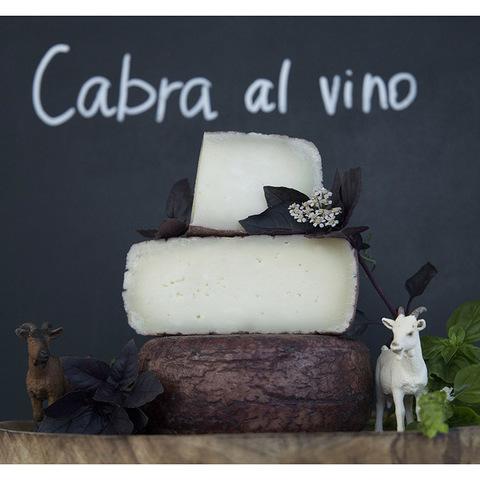 Фотография Козий сыр полутвердый «Пьяная коза» (Cabra Al Vino) / 200 гр купить в магазине Афлора