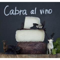 Козий сыр полутвердый «Пьяная коза» (Cabra Al Vino) / 200 гр