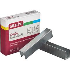 Скобы для степлера №23/17 Attache оцинкованные (1000 штук в упаковке)