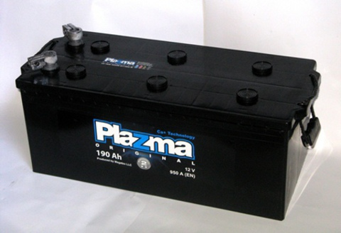 Аккумулятор Plazma Original 190Ah 950A L+