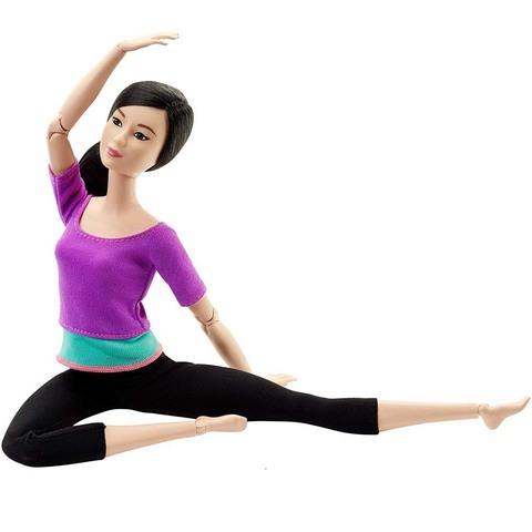Барби в фиолетовом топе. Безграничные движения