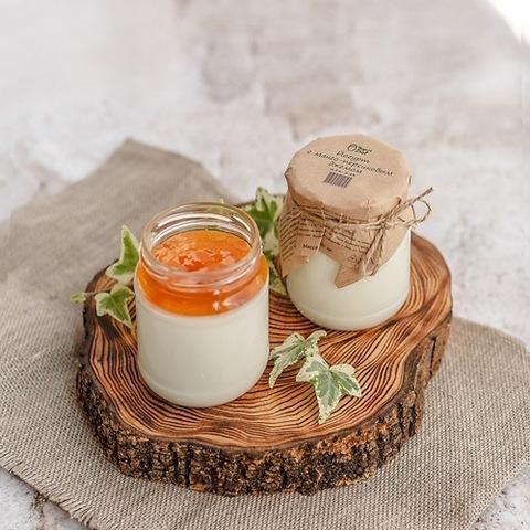 Йогурт термостатный с джемом Манго-Персик 3,2 % 250 г