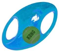 Игрушка для собак KONG Джумблер Регби 18 см средние и крупные породы, синтетическая резина