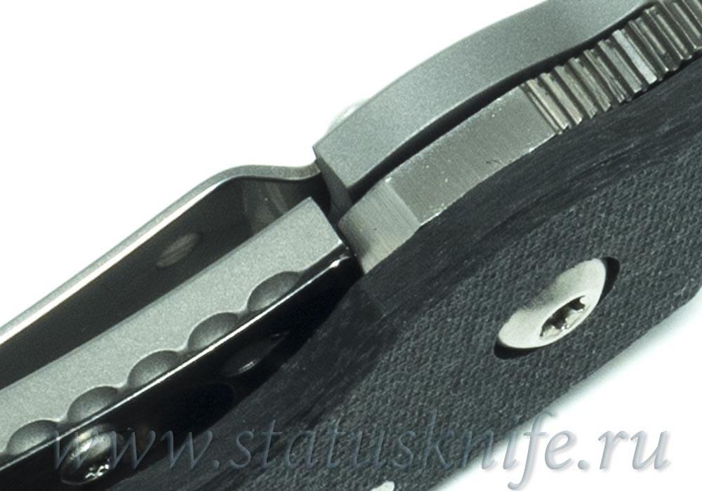Нож Spyderco Ti Military C36CFTIP CPM-S90V - фотография