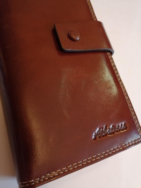 Женский кошелек из кожи Albatross 03-3-3712 coffee