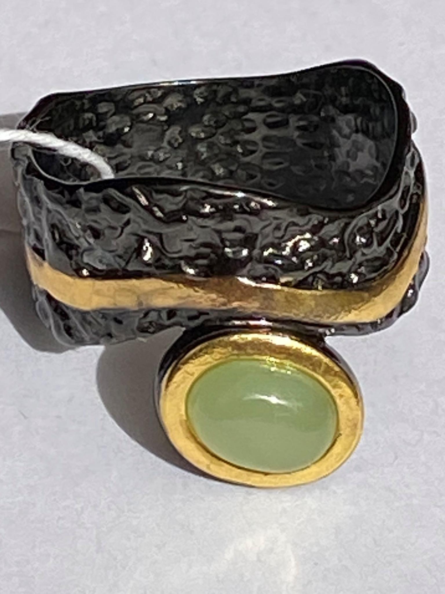 Скифы-нефрит(кольцо из серебра)
