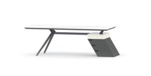 Стол на опорной тумбе (VIND)