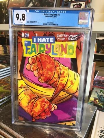 I Hate Fairyland #8 CGC 9.8