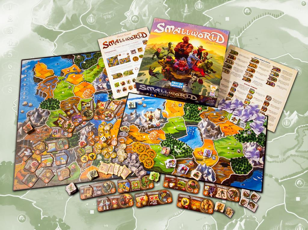 Настольная игра Small World. Маленький мир