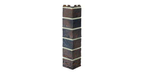 Угол наружный Vox Solid Brick York кирпич коричневый