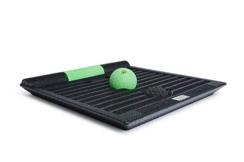 Платформа-тренажер BLACKROLL® SMOOVE BOARD (черный-зеленый)