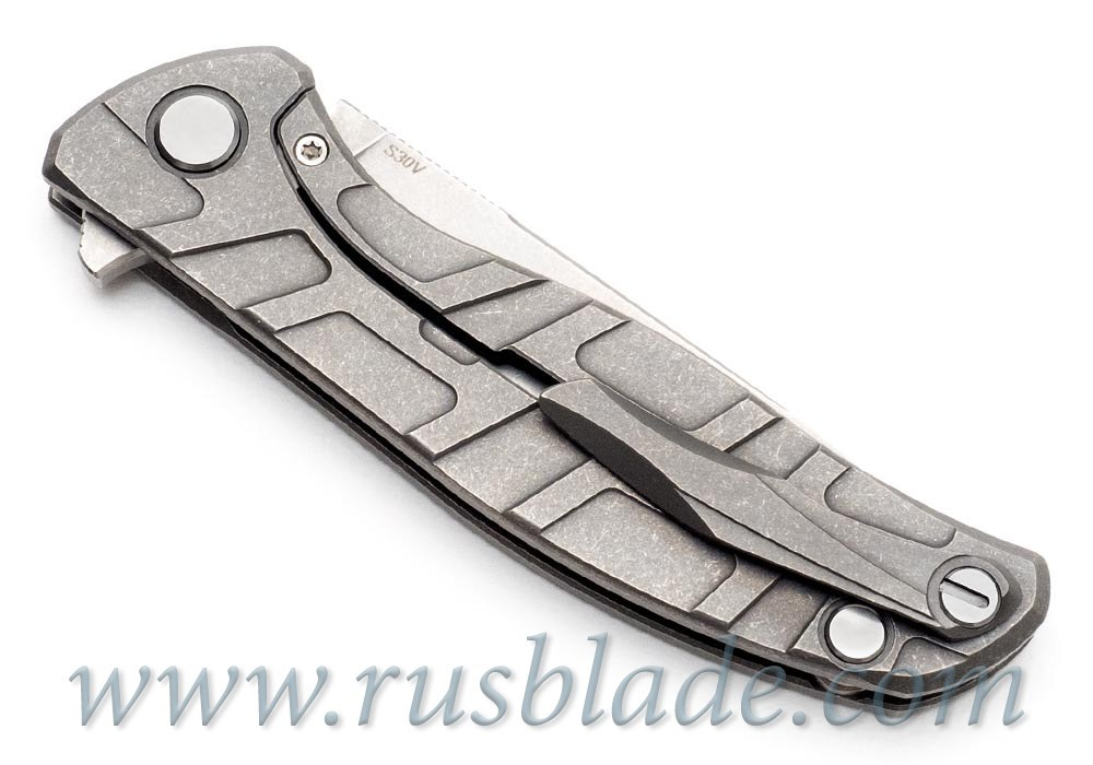 CUSTOM Shirogorov F95 ONE-OFF PROTOTYPE S30V T-mode