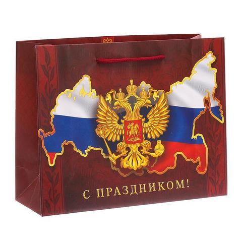 Пакет «Во славу Отечества!», 26×30×9 см