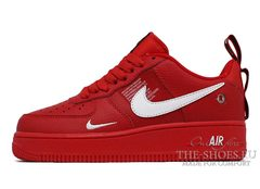 Кроссовки Nike Air Force 1'07 LV8 Utility Red Rouge