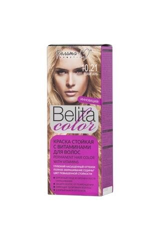 Белита-М Belita Color Стойкая краска с витаминами для волос тон №10.21 Шампань
