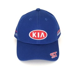 Кепка с вышитым логотипом КИА (Кепка KIA) синяя