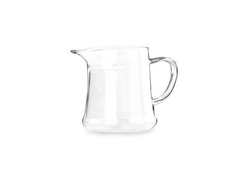 Сливник-чайник из жаропрочного стекла с ситом