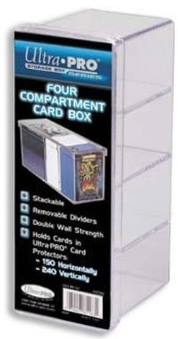 4-Compartment Clear Card (коробка)