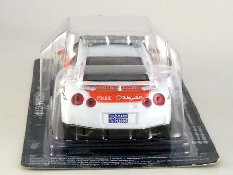 Nissan GT-R Police Arab Emirates 1:43 DeAgostini World's Police Car #51