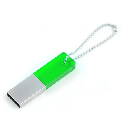 usb-флешка со стеклянной вставкой