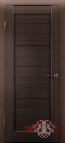 Дверь Л6ПГ4 (венге, глухая экошпон), фабрика Владимирская фабрика дверей