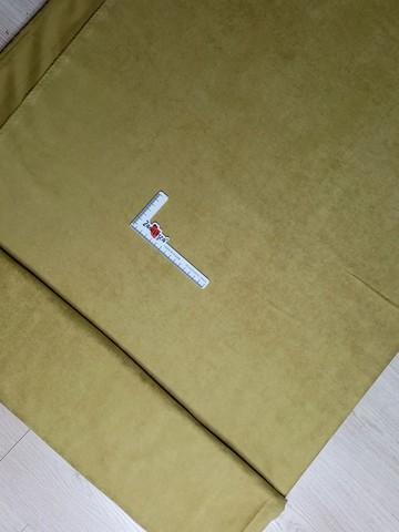 Замша портьерная для штор SUET V-9018 оливковый