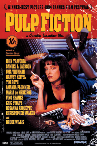 Постер Pulp Fiction PP30791