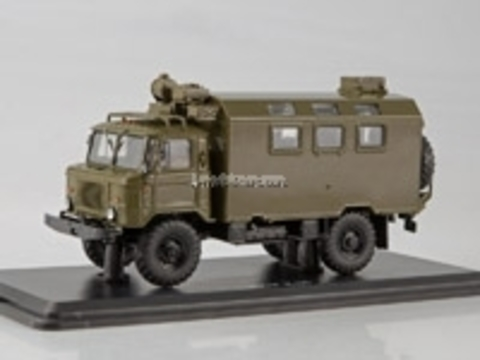 GAZ-66 K-66 Military KUNG (vehicle module system) 1:43 Start Scale Models (SSM)