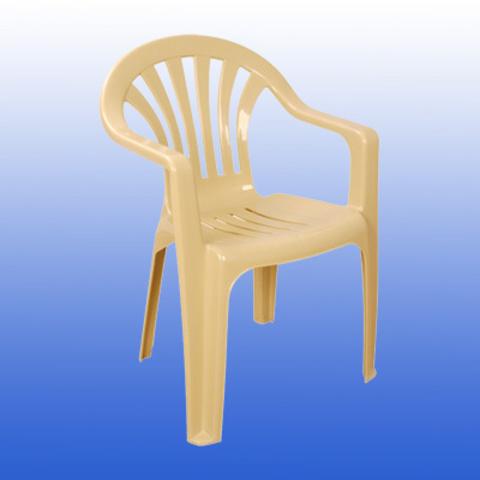Пластиковое кресло HK-100 FESTIVAL бежевое (Турция)