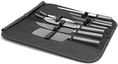 Ножи в сумке Eclipse hollow  набор 9пр