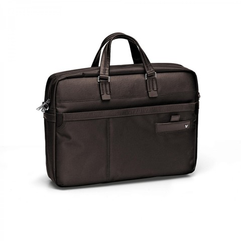 Сумка Roncato Harvard LAPTOP BAG 1 comp. Dark brown