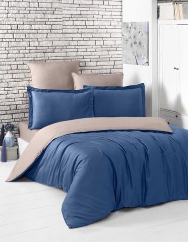 Комплект постельного белья Сатин двусторонний 1,5-спальный