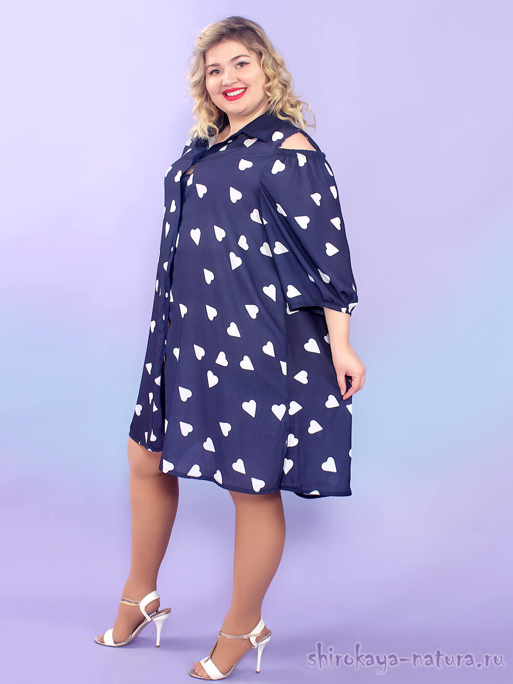 Платье-рубашка Арианна