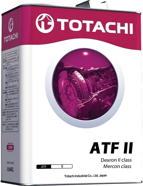 ATF II (Dexron - II) TOTACHI масло трансмиссионное для АКПП (4 Литра)