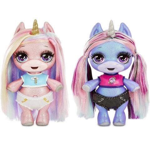 Пупси Сюрприз Блестящий Единорог Розовый или Фиолетовый