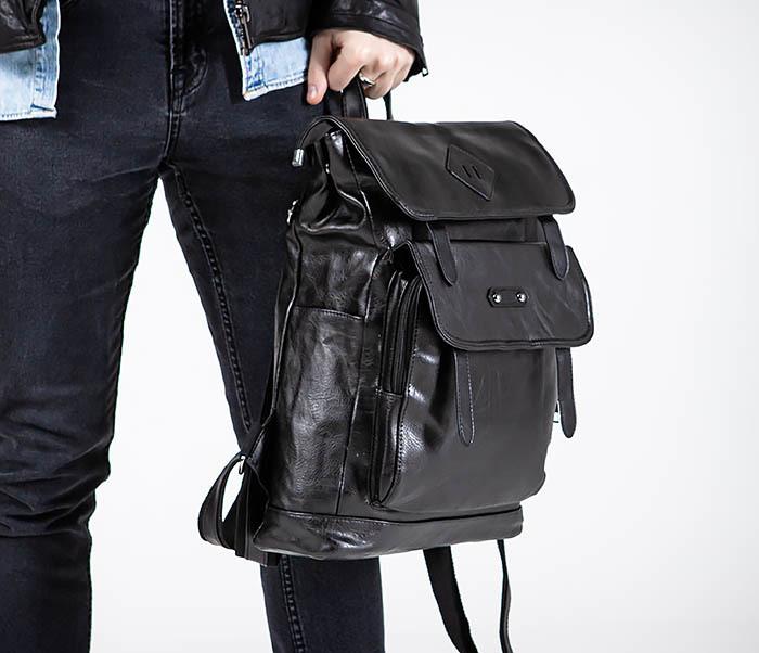 BAG531-1 Большой рюкзак из искусственной кожи фото 02