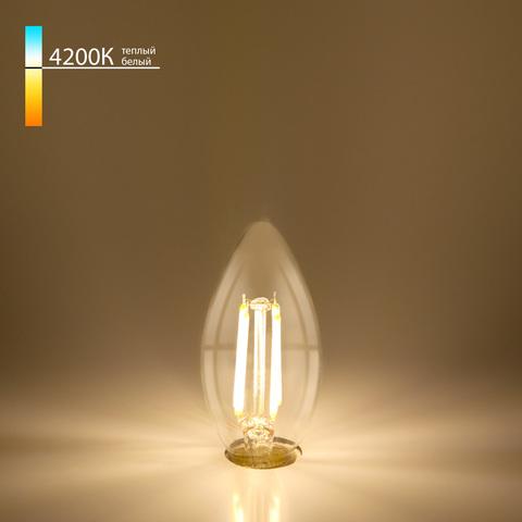 Свеча BLE1412 7W 4200K E14 (C35 прозрачный) (BLE1412) BLE1412